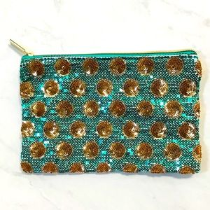 🌺4 Items 25$🌺 Tarte Sequin Pouch - Cosmetic Bag